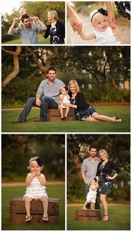 family of 3 photo poses ideas | Posing Ideas...YES!!!!! I like their colors and the golden hour too!