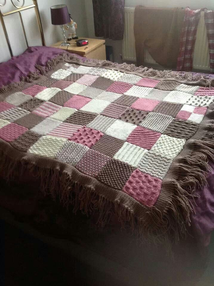 Awesome crochet blanket <3