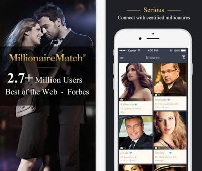 Millionaire Dating Now Site: Why MillionaireMatch trumps Tinder anytime ?