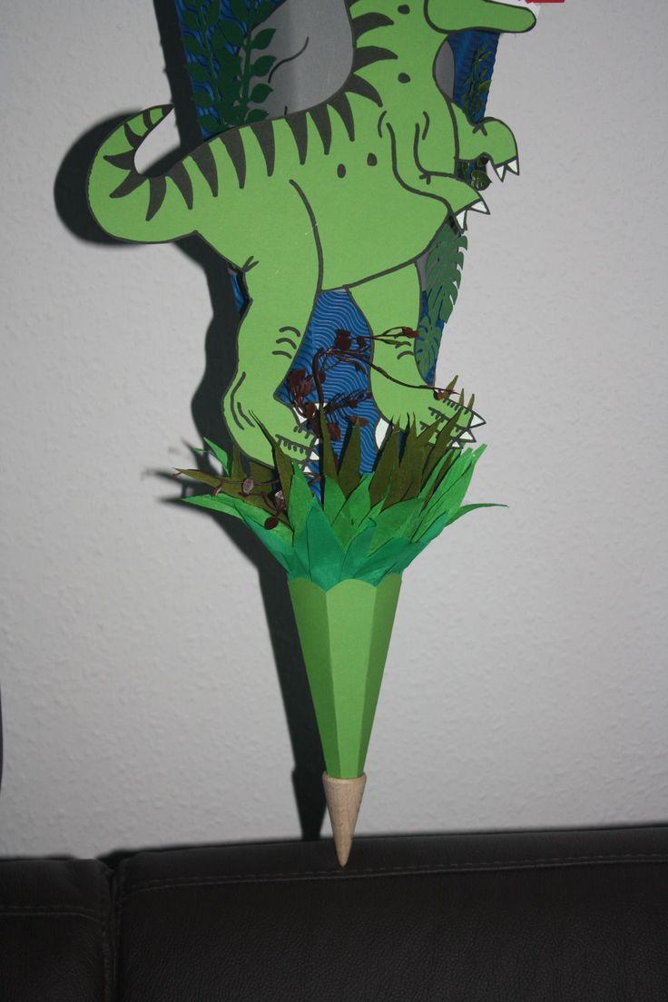 schultütezuckertüte  dino dinosaurier coole schultüte