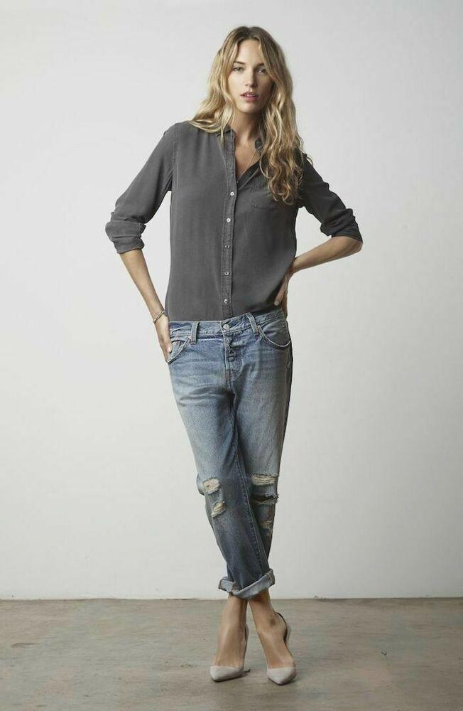 с чем носить женские джинсы кэжуал фото