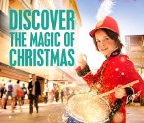 Discover the magic of Christmas! Lighting of the Brisbane City Christmas Tree 30 Nov 2012, King George Square.