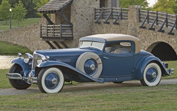 1929 Cord L-29 Hayes Coupe - (Auburn Automobile Company, Connersville, Indiana 1929-1937)