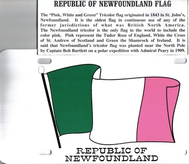 Republic of Newfoundland Flag