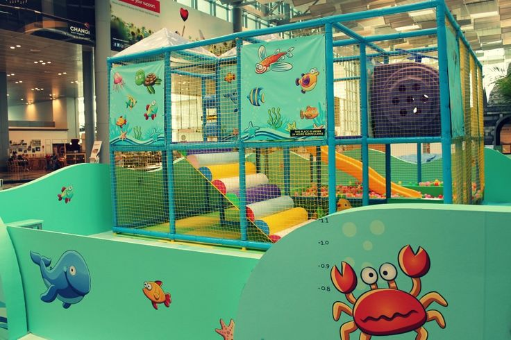 """Playground at """"Indonesia: The World Next Door"""" Exhibition at Changi Airport T3 Singapore 