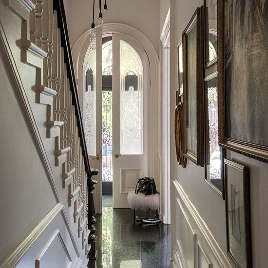 Hallway | Take a tour around a sophisticated New York brownstone | House tour | PHOTO GALLERY | Livingetc | Housetohome.co.uk