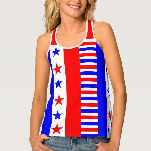 American Flag Colors #starsandstripes Funny #racerback #tanktop #american #independenceday