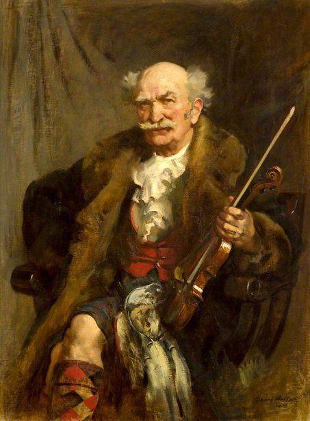 John Young Hunter (1874 – 1955) - James Scott Skinner, The Strathspey King