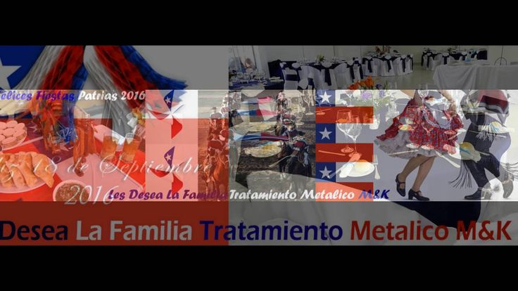 Felices Fiestas Patrias 2016 - 18 de Septiembre - Muebles MyK Fabrica de...