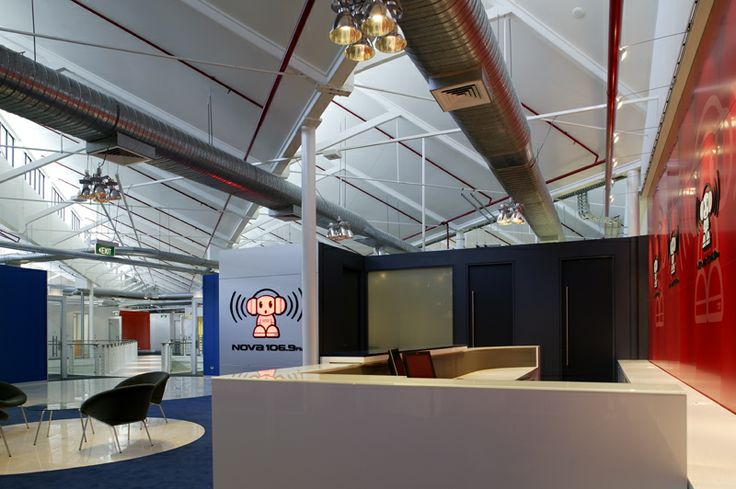 Studio Design and Creation for Nova Radio in Brisbane by Graham Nicholas