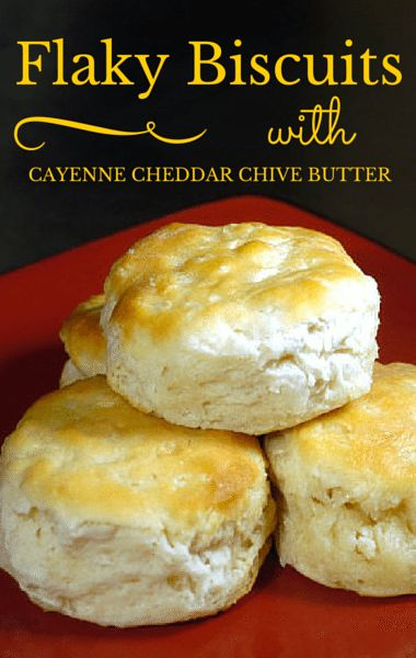 On The Chew, Carla Hall helped one woman recreate her grandmother's Flaky Biscuits, and then paired them with an incredible Cayenne Cheddar Chive Butter.