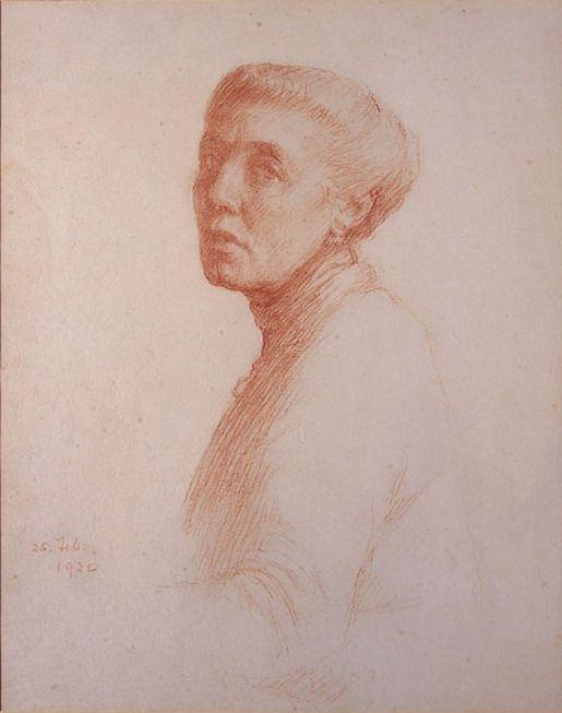 Art - Self Portraits Drawing - Sarah Cecilia Harrison Self Portrait