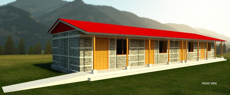 Seismic-resistant design for the new school buildings.