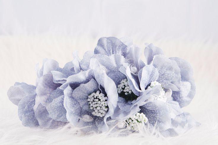 Stroik, wianek kwiatowy na głowę - Inspiracja24 - Opaski na włosy