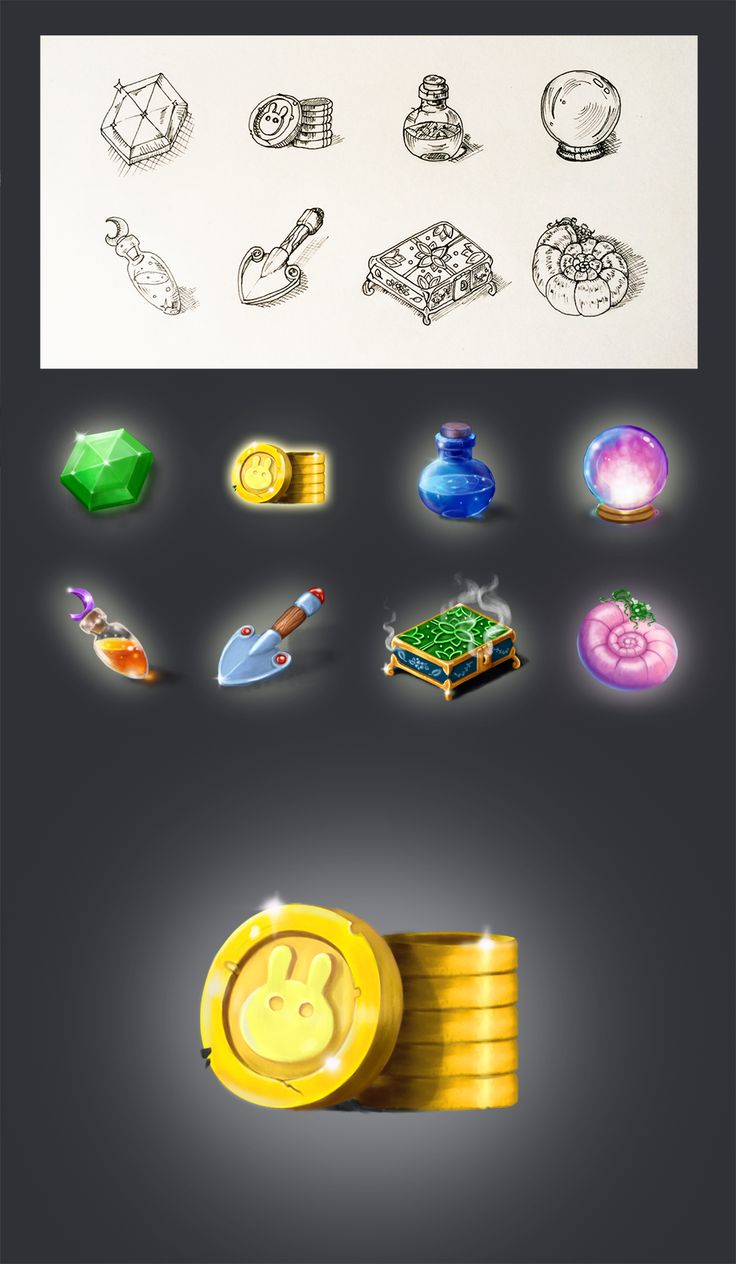 RPG Game Icons on Behance