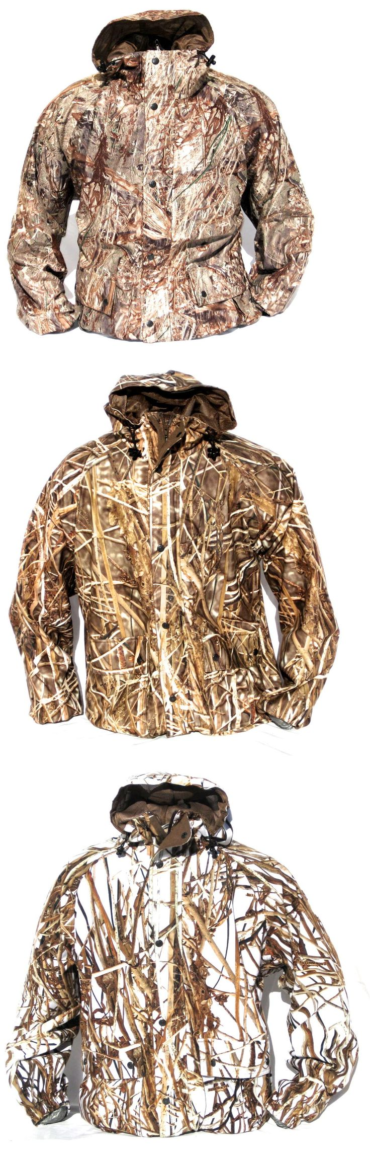 Coats and Jackets 177868: New Cabelas Mossy Oak Duck Blind Waterfowl Waterproof Quiet Pack Hunting Jacket -> BUY IT NOW ONLY: $159.99 on eBay!