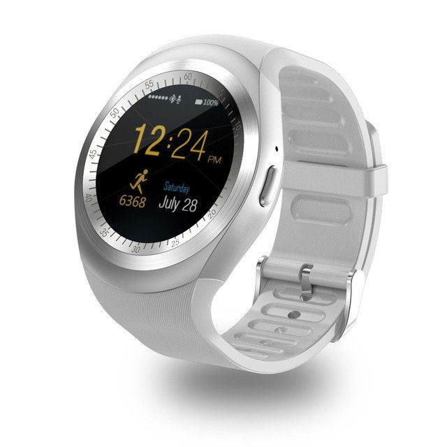 New Y1 circle screen Smart Watch support Nano SIM Card and TF Card With Whatsapp and Facebook & Twitter APP smartwatch on sale