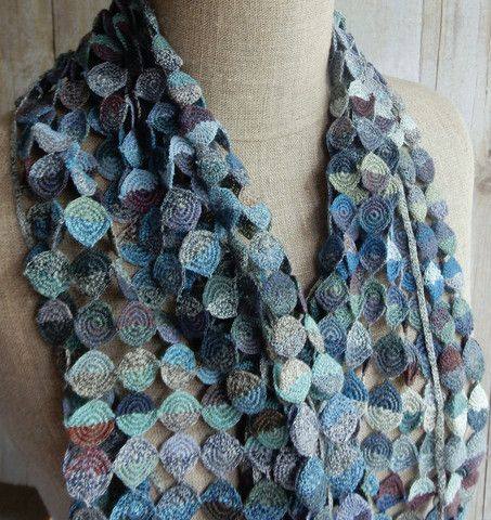 """""""Moon"""" Scarf   The French Needle   French Needlework Kits, Cross Stitch, Embroidery, Sophie Digard"""
