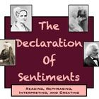 In this highly engaging activity, students work individually or groups to analyze sections of the Declaration of Sentiments, written at the 1848 Se...