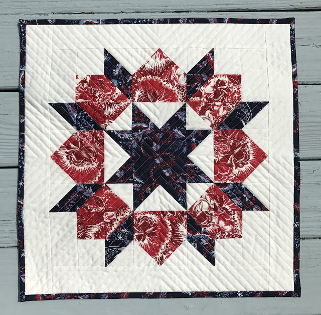 alidiza - Patriotic Pillow Party:  Swoon pillow cover made with Anna Griffin's Madison collection.