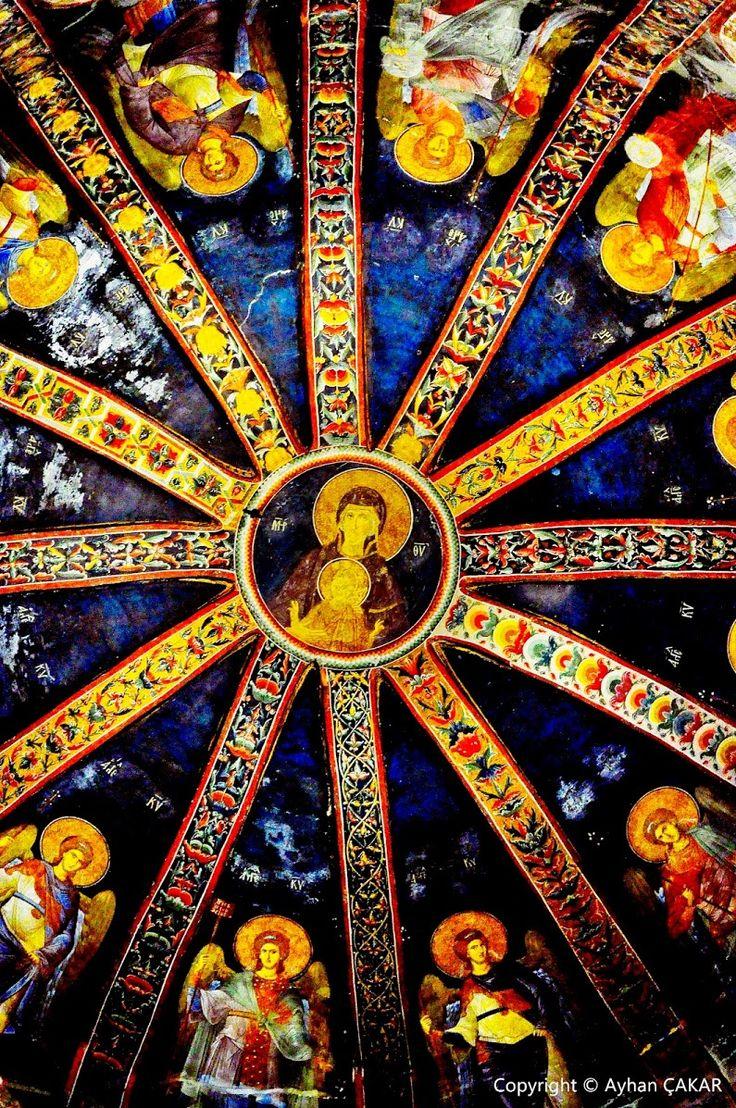Chora Museum Istanbul #istanbul #sultanahmet #chora #kariye  Kariye Müzesi Mozaikler Vardan yok eden, yokdan var eden Yarabbi .. Bizi ezansız, bayraksız... - Ayhan ÇAKAR - Google+