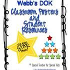 ($)  Critical Thinking, Common Core and DOK!    Webb's Depth of Knowledge (DOK) provides a frame of reference and  vocabulary for students to understand h...
