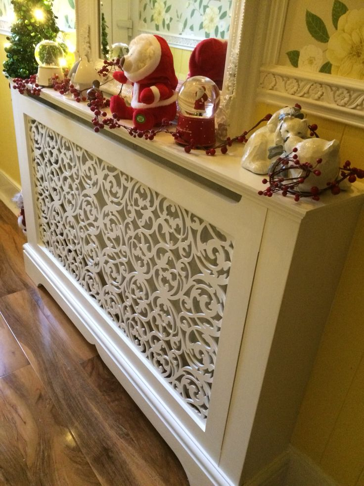 Made to measure radiator cover from Jali