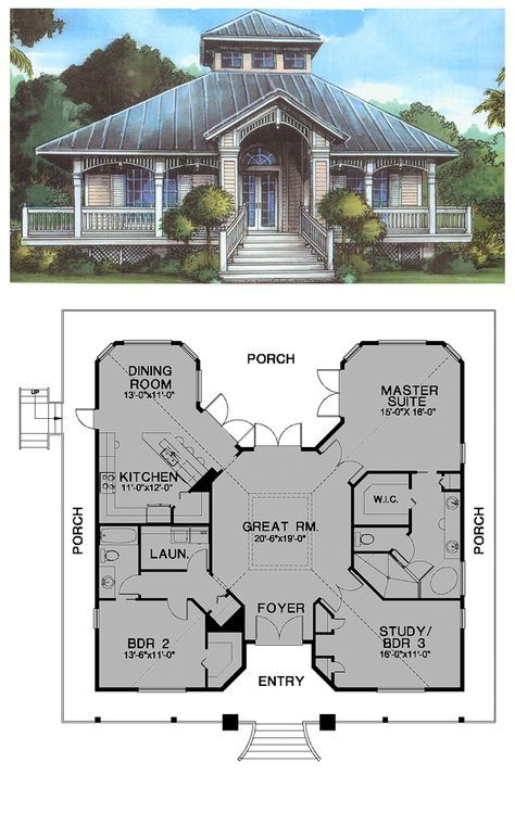 Best 25 cool house plans ideas on pinterest cottage home plans house layout plans and ground - Cool cottage plans ...