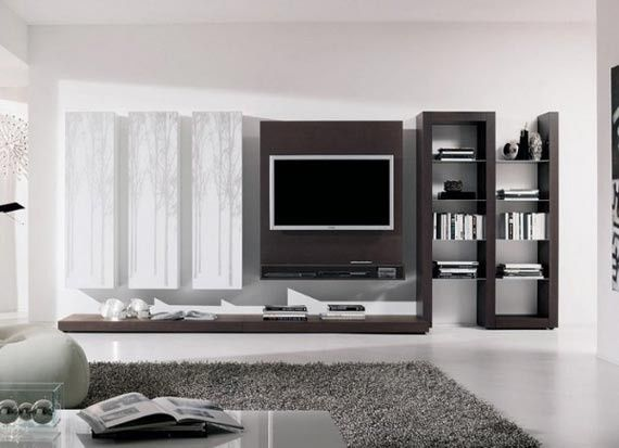 Browse Our Gallery Of Modern TV Wall Units And Tips For How To Integrate  The Modern TV Wall Unit Designs For Living Room And Modern TV Stands In The  Living ... Part 59