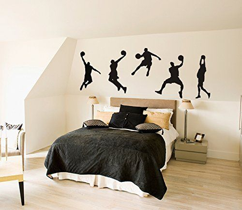 1000 id es sur le th me mur de basket ball sur pinterest. Black Bedroom Furniture Sets. Home Design Ideas
