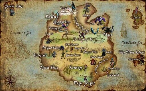 League of Legends map; Shurima, Shadow Isles, Demacia, etc.