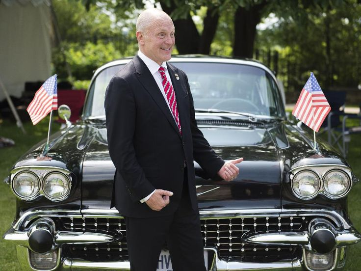 U.S. Ambassador Bruce Heyman hosted Fourth of July celebration at his residence in Ottawa on Saturday, July 4, 2015.