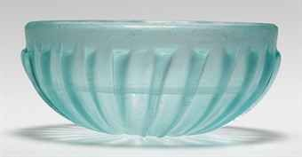 A ROMAN GLASS RIBBED BOWL  - c. 1st century B.C. - 1st century A.D.    Source: Christies