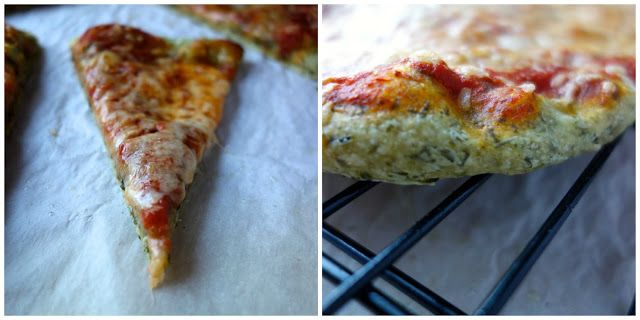 Basic Kale Pizza Dough (Pizza Night!)