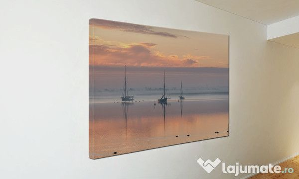 Tablou Canvas Barci pe mare ST3 (43)- 300 ron