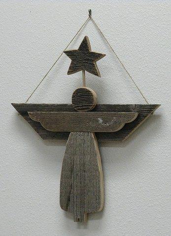 Wooden Angel Craft