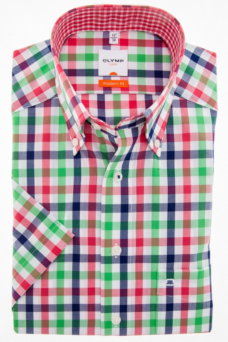 A nice colorful shirt of Olymp. Special for the summer.  This shirt costs now € 49.95 on http://hemdenonline.nl/shirts/shirt-olymp-luxor-modern-fit-beige-0300-64-89.html#