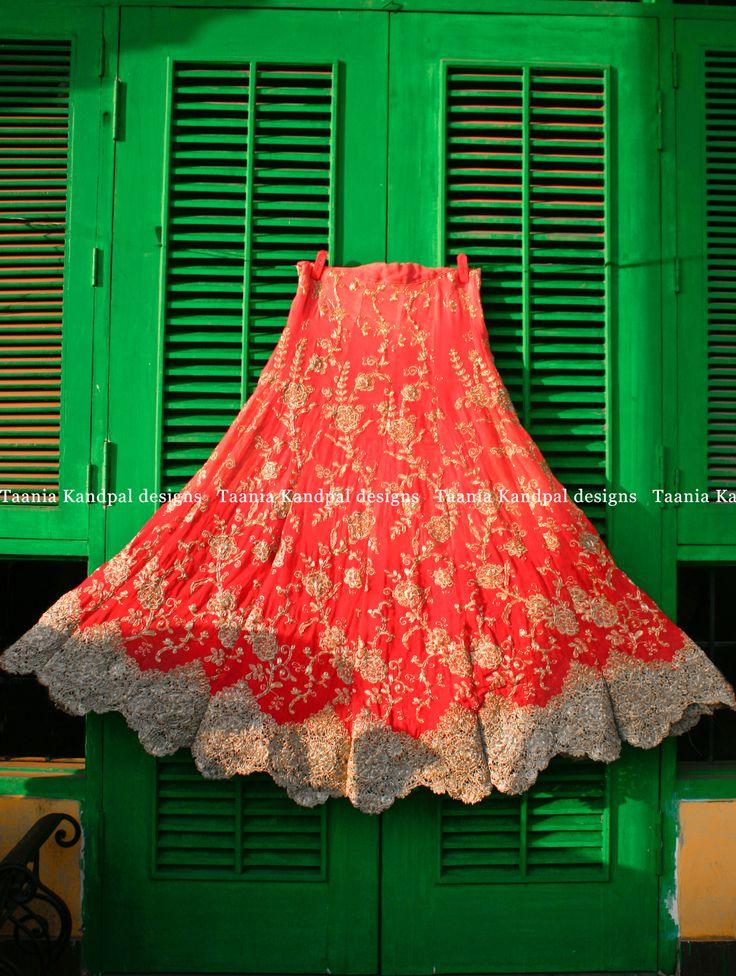 Beautiful red lehenga