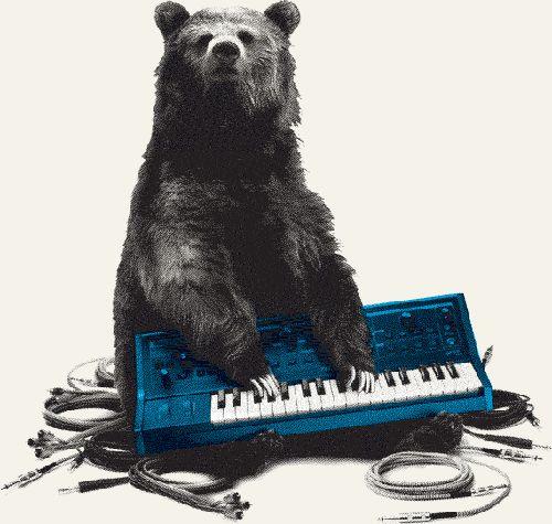 #bear #art #music #piano | Musical Art | Pinterest | Art ...