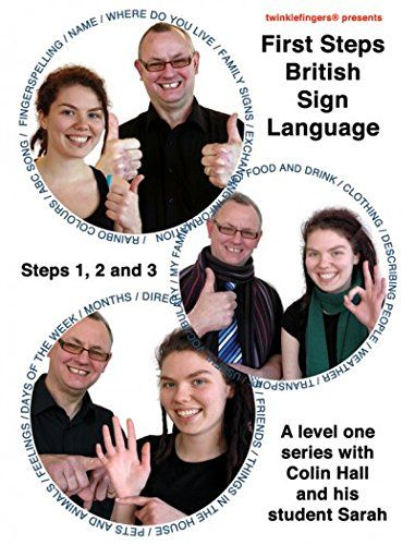 """From 15.00 Level One Bsl Dvd Box Set - """"first Steps British Sign Language Steps 12 And 3"""" (2011)"""