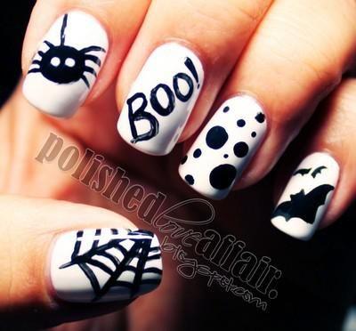 Zobacz zdjęcie Świetne paznokcie na halloween :) w pełnej rozdzielczości