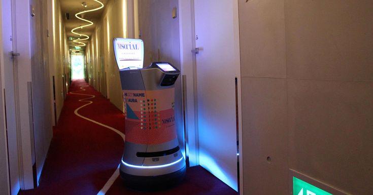 cool Nous avons testé ce robot hôtelier à Singapour: Aura at M Social