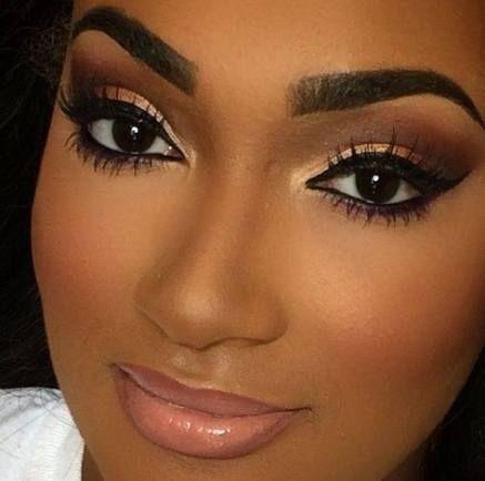 29 Ideas makeup looks for black women lip colors natural hair