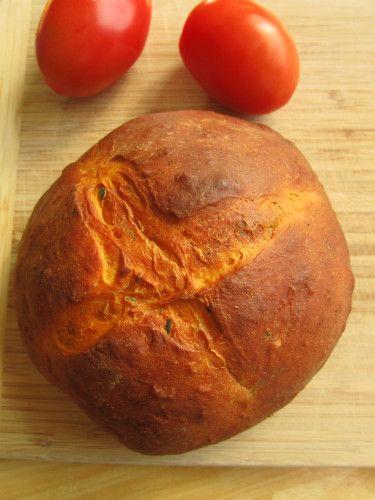 Homemade Tomato Basil bread, like Panera?