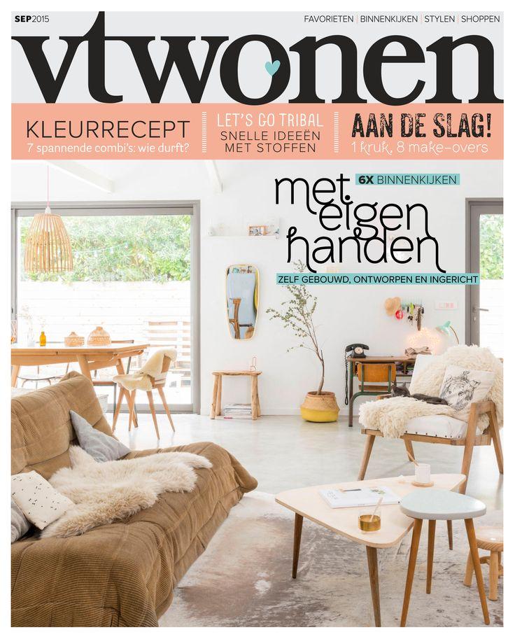 #vtwonen #cover september 2014 #magazine #summer