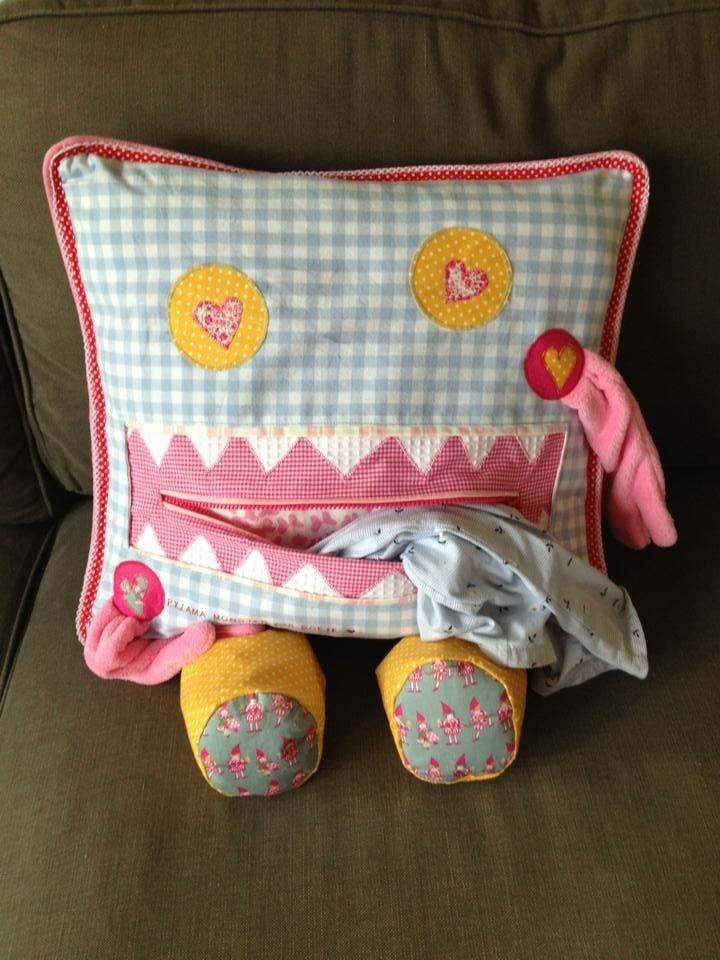 Pyjama monster-sewing project