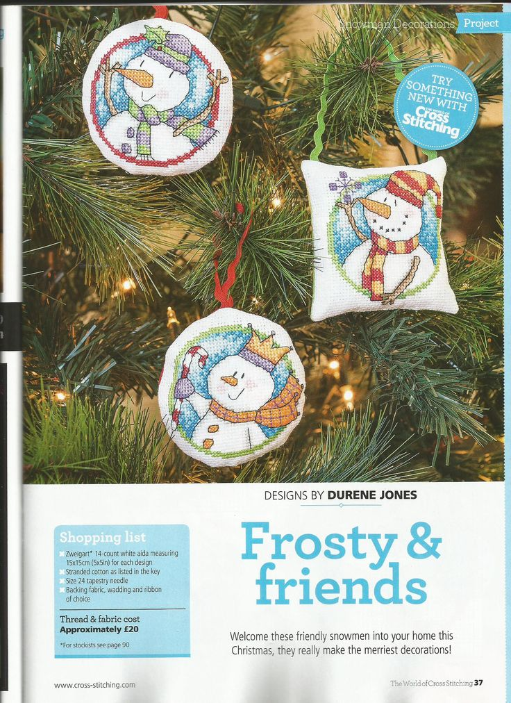 Frosty & friends - Durene Jones