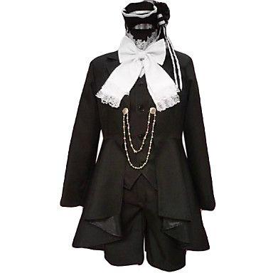 Costume cosplay di Ciel Phantomhive (nero) del 2016 a €68.59