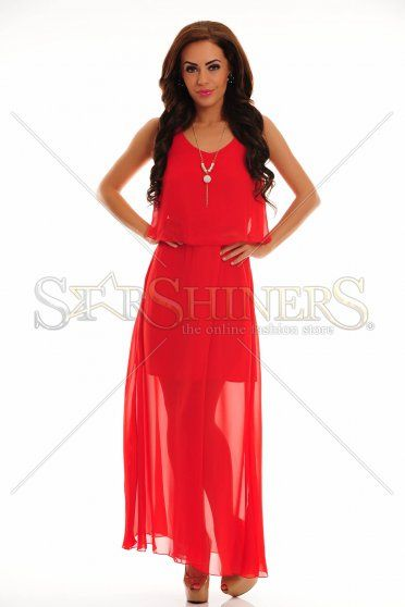 LaDonna Flawless Waves Red Dress