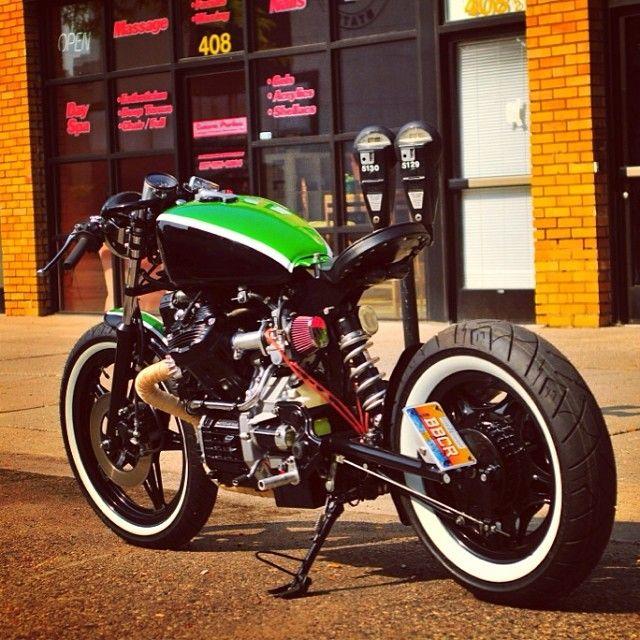 #cx500 #bobber #honda #cafe racer